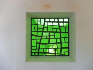 Fenêtre intérieure - Dalle de verre