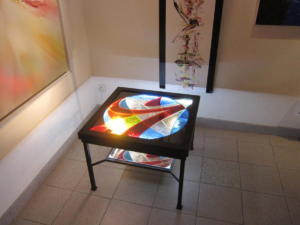 Table basse Champagne